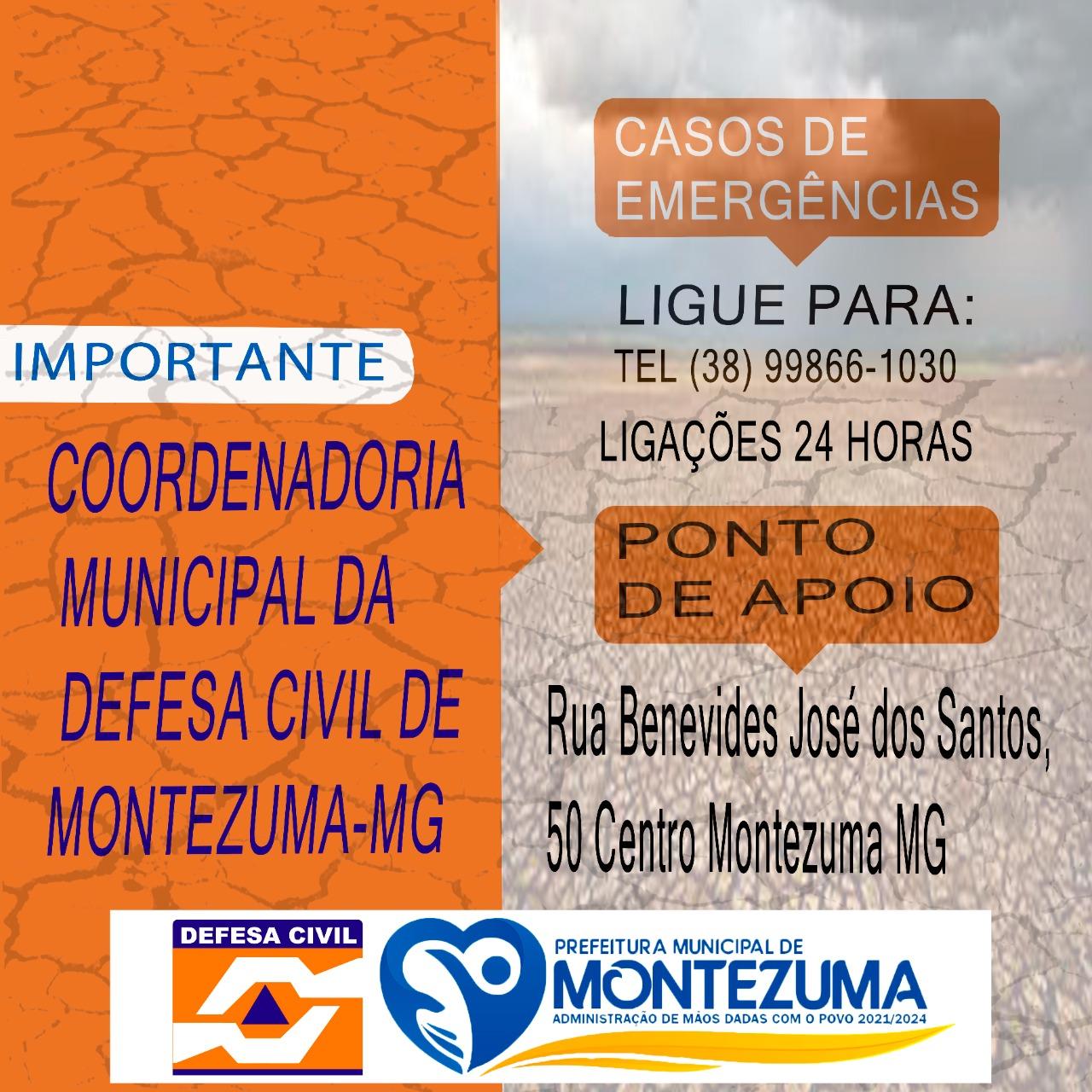 Informe Defesa Civil Montezuma